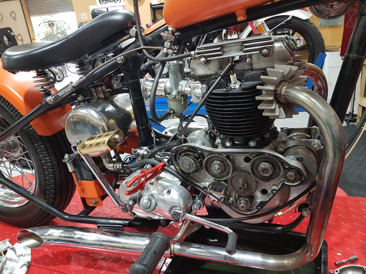 Classic and Vintage Motorcycle Electrical Services